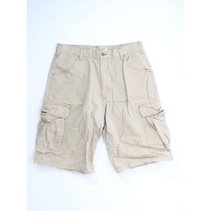 Q Ralph Lauren Cargo Pockets Heavy Cotton Shorts